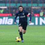 Javier Zanetti capitano in azione durante una partita in Zanetti Story di Simone Scafidi e Carlo A. Sigon (Italia, 2015)