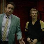 Nicolas Cage e Willem Dafoe in un momento di Cane mangia cane di Paul Schrader (Dog Eat Dog, USA, 2016)