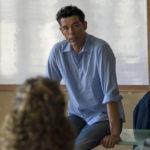 Alessandro Gassmann in versione professore durante Beata ignoranza di Massimiliano Bruno (Italia, 2017)