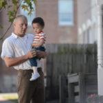 Joel Edgerton con il figlioletto in un'immagine tratta da Loving di Jeff Nichols (USA, UK 2016)