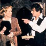 Catherine Deneuve e Heinz Bennent durante L'ultimo metrò di François Truffaut (Le dernier métro, Francia 1980)