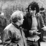 Jime Sheridan con Daniel Day-Lewis sul set di Nel nome del padre (In the Name of the Father, Irlanda, UK 1993)