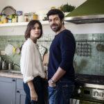 Kasia Smutniak e Pierfrancesco Favino in un momento di Moglie e marito di Simone Godano (Italia, 2017)