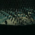 Una minacciosa immagine tratta da Alien: Covenant di Ridley Scott (USA, UK, Australia, Nuova Zelanda 2017)