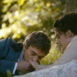 Il corteggiamento della protagonista Judith Chemla durante Una vita - Une vie di Stéphane Brizé (Francia, Belgio 2016)