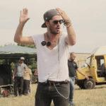 Il regista Alessandro Porzio sul set del corto Mattia sa volare (Italia, 2017)