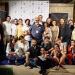 Foto di gruppo tra i premiati del Sa.Fi.Ter. 2017