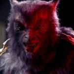 Un primo piano de l'Uomo Lupo in Scuola di mostri di Fred Dekker (The Monster Squad, USA 1987)