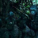 Scenari bellici nel corso di The War - Il Pianeta delle Scimmie di Matt Reeves (War for the Planet of the Apes, USA 2017)
