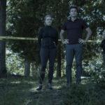 Laura Linney e Jason Bateman, protagonisti di Ozark, serie tv creata da Bill Dubuque e Mark Williams (USA, 2017)