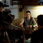 Un'immagine dal set del cortometraggio Senza occhi, mani e bocca di Paolo Budassi (Italia, 2017)