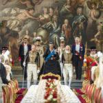 La Regina a corte durante Vittoria e Abdul di Stephen Frears (Victoria & Abdul, UK, USA 2017)