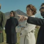 Fausto Cabra, Giulia Michelini, Emmanuelle Devos e Fabrizio Gifuni in un'immagine tratta da Dove non ho mai abitato di Paolo Franchi (Italia, 2017)