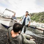Istanti drammatici nel corso del corto Colapesce di Vladimir Di Prima (Italia, 2017)