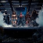La squadra di supereroi quasi al completo in Justice League di Zack Snyder (USA, 2017)