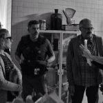 Michele De Angelis su set del corto L'uomo nella macchina da presa Foto © Copyright - Patrizio Cipollini e Franco Lotterio