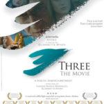 La locandina di Three the Movie di Yassine Marco Marroccu ed Elisabetta Minen (Italia, 2015)