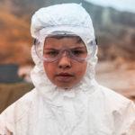 Il piccolo Luca Esposito in Tito e gli alieni di Paola Randi (Italia, 2017)