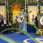 Esibizione musicale nel corso de Il premio di Alessandro Gassmann (Italia, 2017)