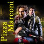 La locandina del cortometraggio Pizza Marconi di Maurizio M. Merli (Italia, 2017)