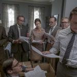 Nevralgica riunione dei giornalisti durante The Post di Steven Spielberg (USA, UK 2017)