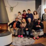 Foto di gruppo per il cast di Sconnessi di Christian Marazziti (Italia, 2018)