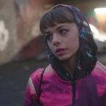 Un'altra immagine della Carbini, nel corso del cortometraggio Denise di Rossella Inglese (Italia, 2017)