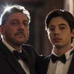 Sergio Castellitto e Guglielmo Poggi, protagonisti della commedia Il Tuttofare di Valerio Attanasio (Italia, 2018)