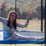 Elena Sofia Ricci nei panni di Veronica Lario, in una metaforica immagine tratta da Loro 2 di Paolo Sorrentino (Italia, Francia 2018)