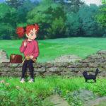 La piccola protagonista in un momento di Mary e il fiore della strega di Hiromasa Yonebayashi (Meari to majo no hana, Giappone 2017)