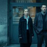 Kati Outinen con Jim Carrey in una drammatica immagine tratta da Dark Crimes di Alexandros Avranas (Polonia, UK, USA 2016)