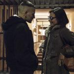 Alessandro Borghi e Jasmine Trinca in un momento di Sulla mia pelle di Alessio Cremonini (Italia, 2018)