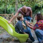 Pietro Massa e Cristina Donadio in un'idlilliaca immagine tratta da Aeffetto Domino di Pietro Massa (Italia, 2017)