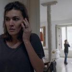 Marta Nieto al telefono durante il corto Mother di Rodrigo Sorogoyen (Spagna, 2017)