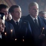 Colin Firth in un momento di Kursk di Thomas Vinterberg (Belgio, Lussemburgo 2018)