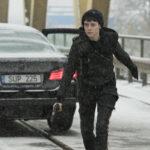 Claire Foy è Lisbeth Salander in Millennium - Quello che non uccide, Fede Álvarez (The Girl in the Spider's Web, USA, UK, Svezia, Germania 2018)