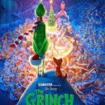 La locandina originale del film d'animazione Il Grinch di Yerrow Cheney, Scott Mosier (USA, Cina, Giappone, Francia 2018)