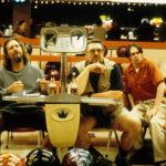 Jeff Bridges, John Goodman e Steve Buscemi al bowling durante Il grande Lebowski di Joel Coen ed Ethan Coen (The Big Lebowski, USA, UK 1998)