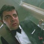 Rowan Atkinson in un momento critico di Chi ha paura delle streghe? di Nicolas Roeg (The Witches, UK, USA 1990)