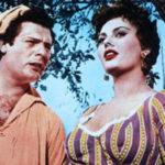 Marcello Mastroianni e Sophia Loren ne La bella mugnaia di Mario Camerini (Italia, 1955)