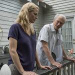 """Alison Eastwood con """"papà"""" Clint in un pregnante momento di Il corriere - The Mule di Clint Eastwood (USA, 2018)"""