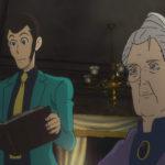 Il popolare eroe in un momento di Lupin III - Ritorno alle origini serie tv creata da Monkey Punch (Giappone, 2018)