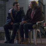 Ancora Frank Rogowski e Sandra Huller in un momento di Un valzer tra gli scaffali di Thomas Stuber (In den Gängen, Germania 2018)