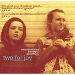 Un manifesto promozionale di Two for Joy di Tom Beard (UK, 2018)