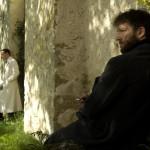 Vincent Cassel e Michael Fassbender in una significativa immagine tratta da A Dangerous Method di David Cronenberg (UK, USA, Canada, Germania, Svizzera 2011)