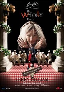 Il poster di The Wholly Family di Terry Gilliam (Italia, 2012)