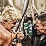Combattimenti all'arma bianca in Tokyo Tribe di Sion Sono (Giappone, 2014)