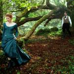 Jessica Chastain e Colin Farrell in una pittorica immagine di Miss Julie di Liv Ullmann (Irlanda, USA, UK, Francia, Canada, Norvegia 2014)
