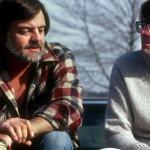 George Romero ritratto assieme a Stephen King in un'immagine d'epoca.