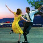 Emma Stone e Ryan Gosling danzano soavemente sulle note di La La Land di Damien Chazelle (USA, 2016)